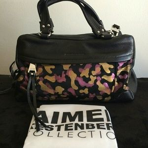 Jewel Camo Satchel with Convertible strap